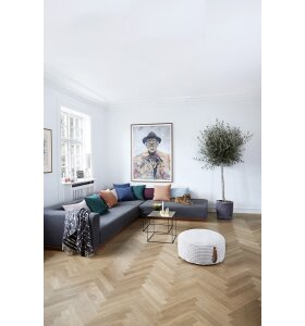 OYOY Living Design - Fluffy Herringbone, rose
