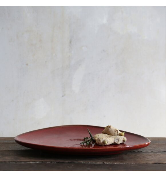 RO collection - Smukt fad, Bowl No. 11, Ox red