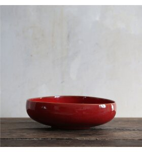 Ro Collection - Bowl No. 10, Ox red