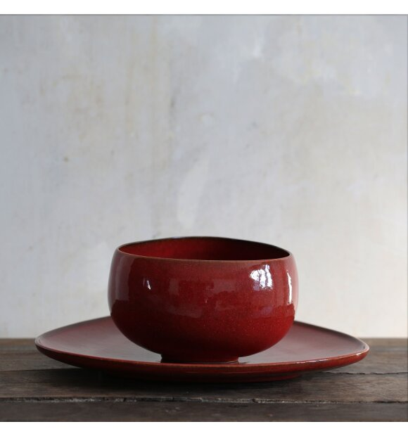 Ro Collection - Bowl No. 9, Ox red