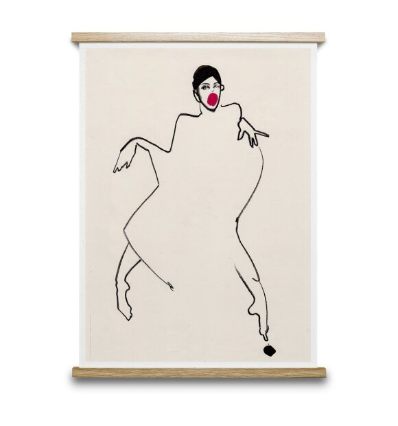 Paper Collective - Dancer 02 50x70