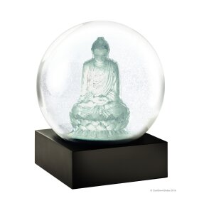 Coolsnowglobes - Snow Globe, Crystal Buddha