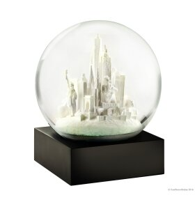 Coolsnowglobes - Snow Globe NYC hvid