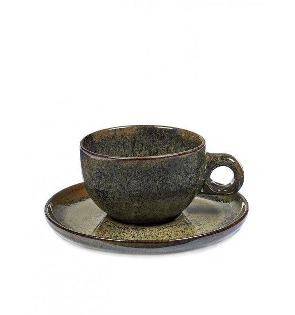 Serax - Surface Cappuccino-kop og underkop Indi Grey