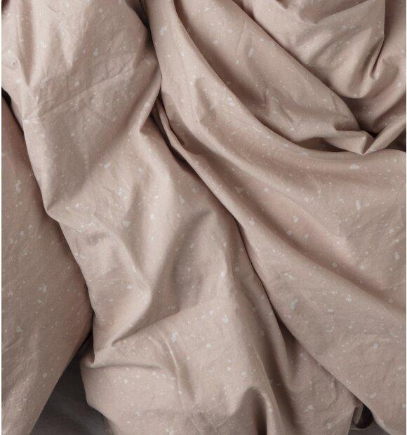 ferm LIVING - Dobbelt dynebetræk, Hush Milkyway, 200x200, fl.farver