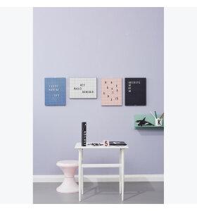 Design Letters - Bogstaver i æske, sorte