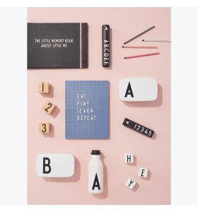 Design Letters - Bogstaver i æske, hvide