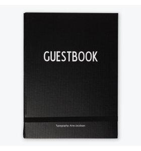 Design Letters - Gæstebog
