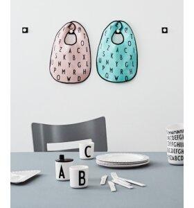 Design Letters - Melamin Plate. large
