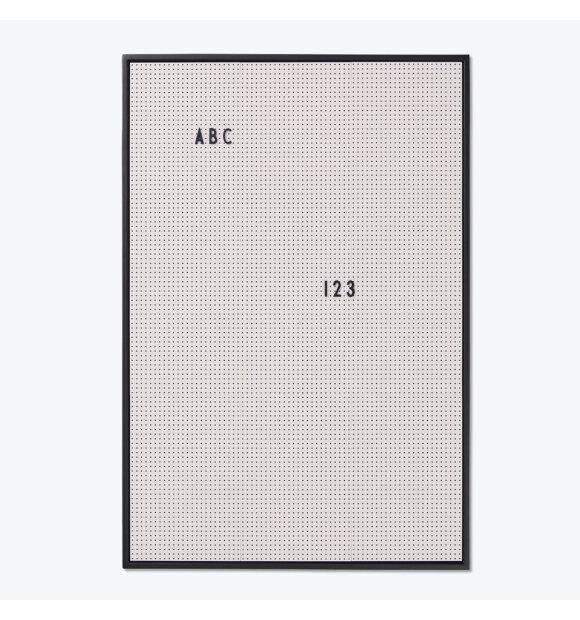 Design Letters - Messageboard, A2 grå