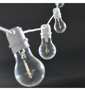 House-Doctor - Lyskæde Function, hvid 10 LED