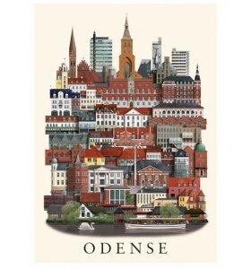Martin Schwartz - Plakat Odense 50*70