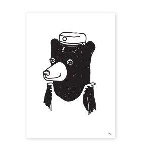 Strups - Student Bear Girl A5