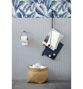 by Wirth - Toiletpapirholder, Røget eg