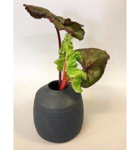 Tina Marie CPH Handmade - Timbre vase, blå/grå