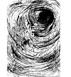 Mette Handberg - The Eye of the storm, kort A5