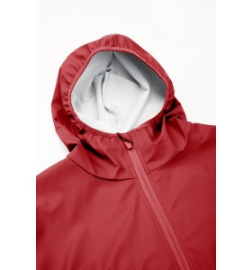 Rains - Base Jacket long, Scarlet
