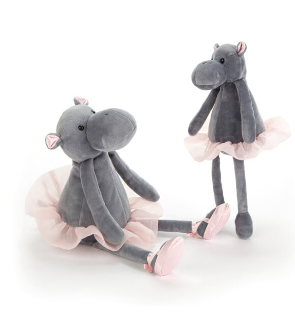 Jellycat - Dancing Darcy Hippo, small