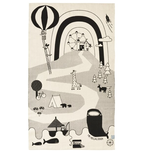 OYOY Living Design - Mr. Megalodon Adventure Rug