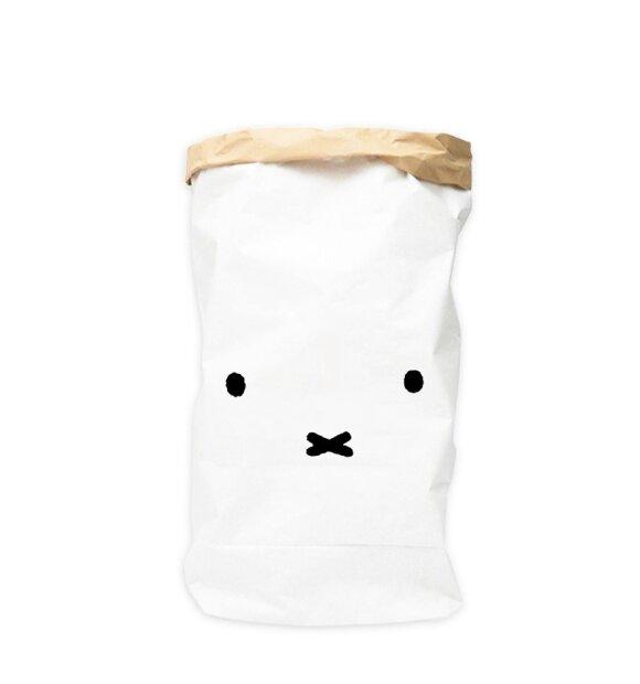 Playforever - Miffy papirsæk ansigt, M