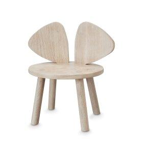 NOFRED - Mouse Stol, eg el. grå