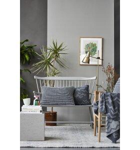 SEMIBASIC - Hide plaid, grå