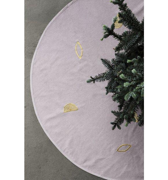 ferm LIVING - Juletræstæppe, rosa