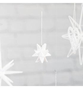 House-Doctor - Star ornament hvid, 5,7