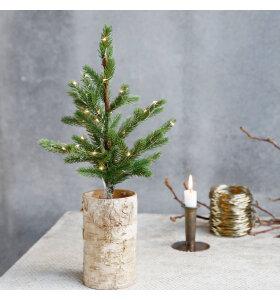 House Doctor - Juletræ med lys, 44cm.