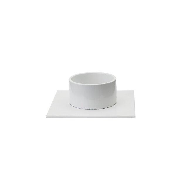 KunstIndustrien - Kvadratstage hvid, Ø:5