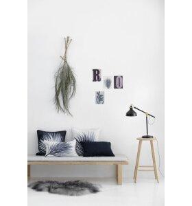 Pernille Folcarelli - Pude - Palm dark  50x50