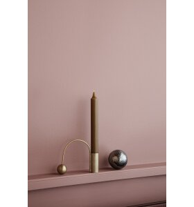 ferm LIVING - Balance lysestage, messing