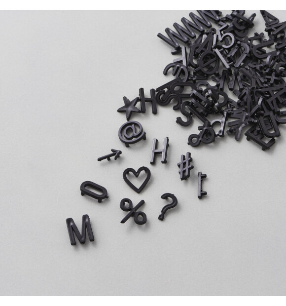 MONOGRAPH - 424 ekstra bogstaver/tal/symboler