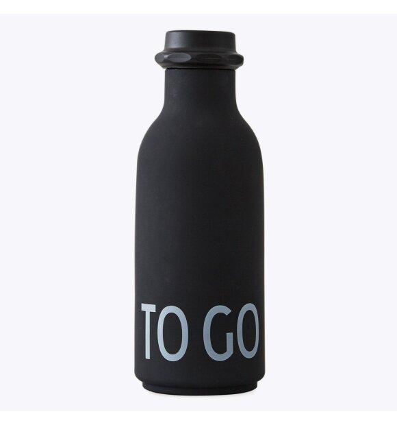 Design Letters - TO GO Vandflaske