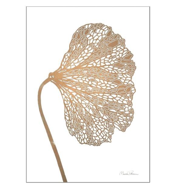 Monika Petersen Art Print - Valmue A5