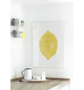 Monika Petersen Art Print - Citron, 50x70