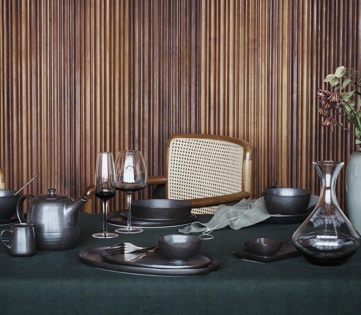 smoke champagneglas fra broste copenhagen. Black Bedroom Furniture Sets. Home Design Ideas