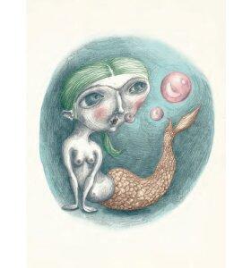 Sumo Illustration - Vera 30*40 cm.