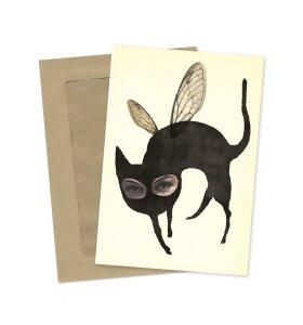 Sumo Illustration - Flyvende Kat