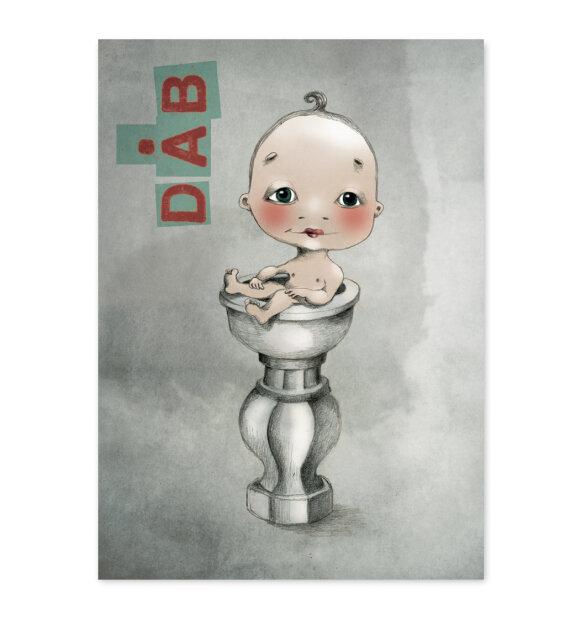 Sumo Illustration - Dåbskort