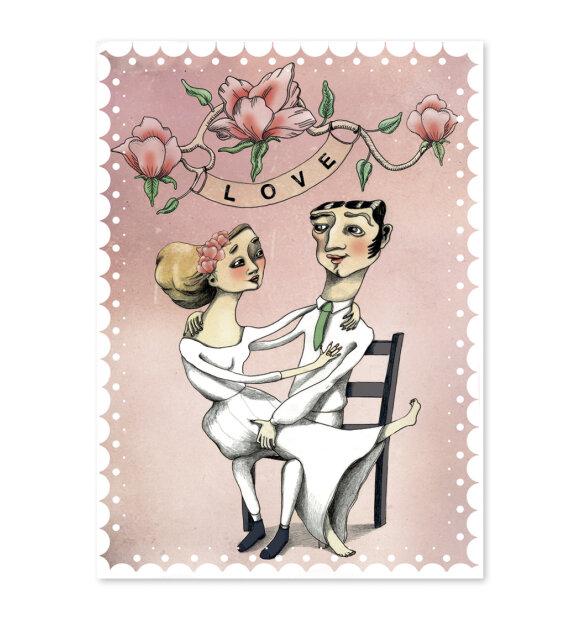 Sumo Illustration - Love