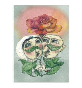 Sumo Illustration - Kærlighedskort