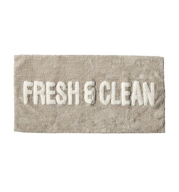 Bloomingville - Bademåtte, Fresh & Clean
