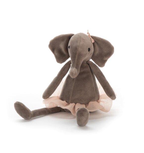 Jellycat - Dancing Darcey Elefant, lille