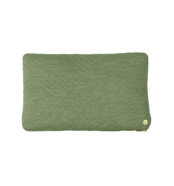 ferm LIVING - Quiltet pude, 40x25