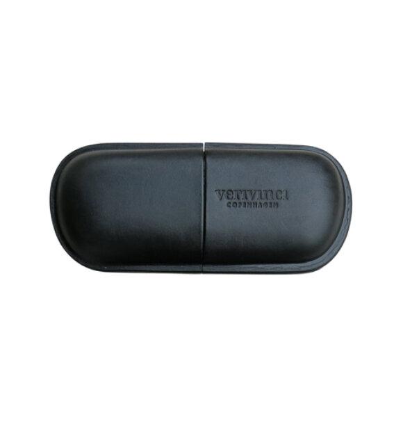 Verivinci - Eye Glasses Push Case, sort