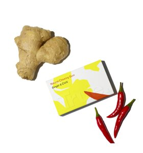 True - Tyggegummi Ginger & Chilli