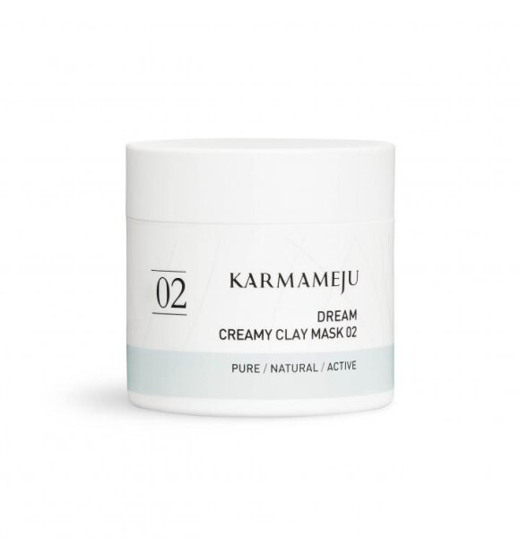 Karmameju - Creamy Clay Maske 02, Dream