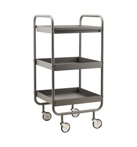 House Doctor - Trolley/rullevogn Roll, Grå