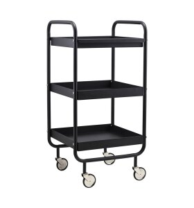 House Doctor - Rullebord/Trolley Roll, Sort